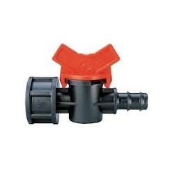 20mm Flow Control Tap M.BSP to 16mm Barbed