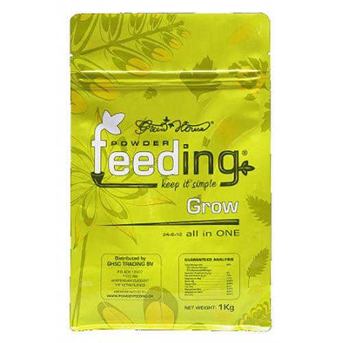 Green House Powder Feed - Grow / Mother Plants 1kg bag