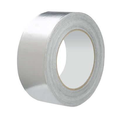 Silver Foil Insulation Tape 50 Metres long / 50mm wide